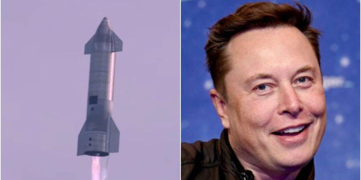 SpaceX startet nach der Explosion von 4 Testflügen einen neuen Prototyp des Raumfahrzeugs