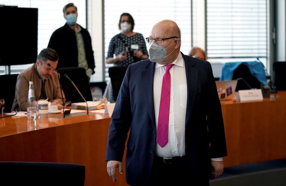 Aktenbild des deutschen Wirtschaftsministers Peter Altmaier in Berlin, 20. April 2021. - Foto von Reuters