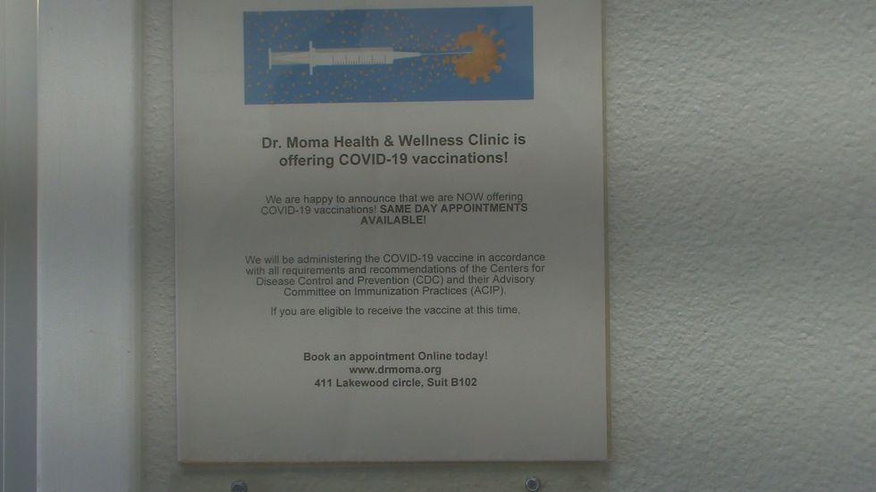 CDPHE kann die in der Colorado Springs Clinic, Dr.  Moma Gesundheit und Wellness