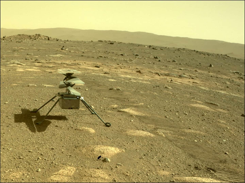 Die NASA bereitet sich darauf vor, einen Kreativitätshubschrauber auf dem Mars zu fliegen. In einem weiteren Moment der Gebrüder Wright bereitet sich die NASA darauf vor, den Innovationshubschrauber auf dem Mars zu fliegen.