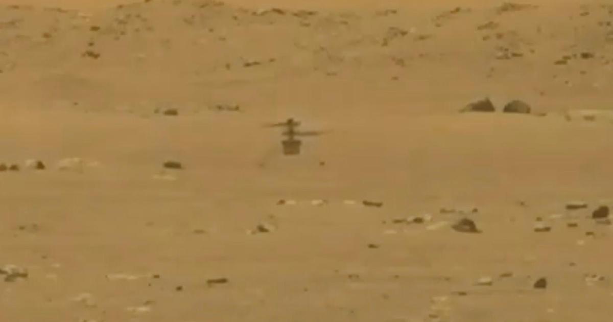 """Ein innovativer NASA-Hubschrauber macht seinen ersten Flug auf dem Mars in """"The Wright Brothers 'Moment"""""""