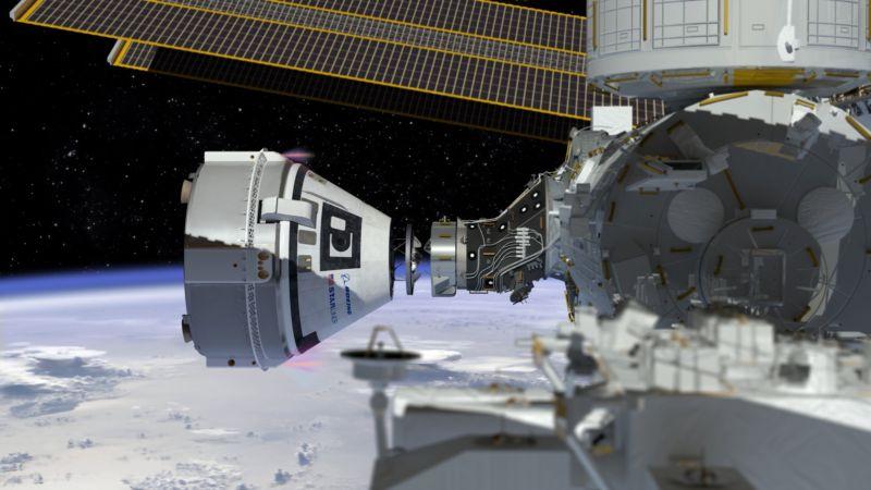 Wie wird das Andocken an einen Boeing Starliner auf der Internationalen Raumstation aussehen?