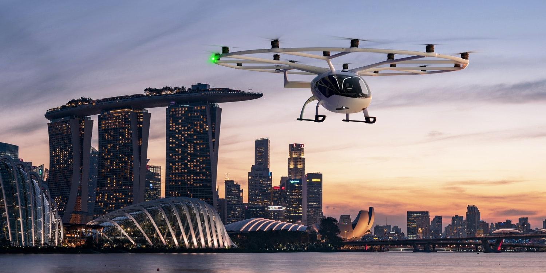 Investoren im fliegenden Taxigeschäft bauen eine holprige Fahrt auf