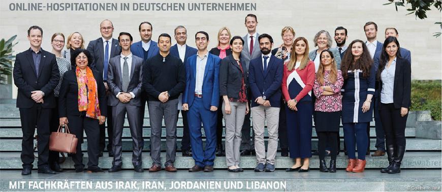 Jordanien – Ein Projekt wurde gestartet, um junge Wissenschaftler aus dem Nahen Osten mit deutschen Unternehmen zu verbinden