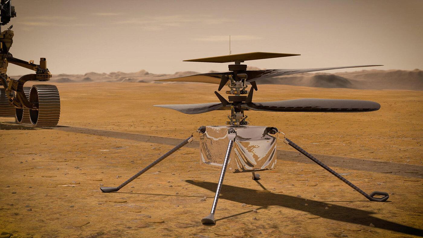 NASA erweitert Hubschrauberpläne auf dem Mars: NPR
