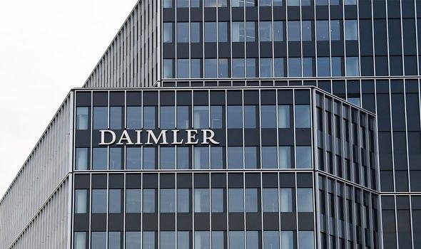 Daimler: Chinas Geely ist mit 9,69 Prozent am Automobilhersteller beteiligt