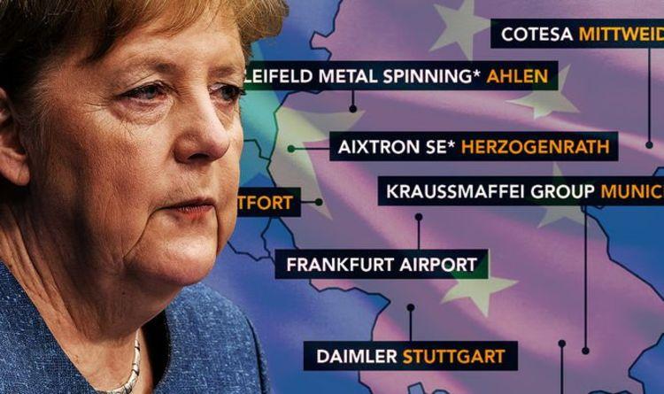 Chinas Eigentum und Kontrolle an deutschen Unternehmen MAPPED |  Die Welt |  Nachrichten