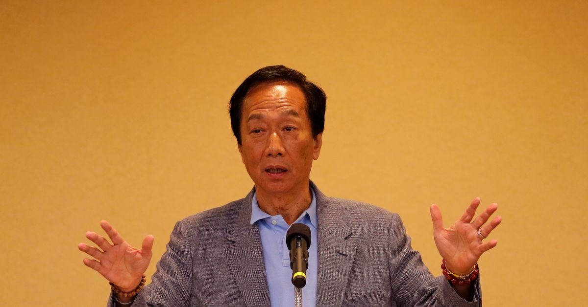 Der Gründer von Foxconn hofft, BioNTech COVID-Material nach Taiwan importieren zu können