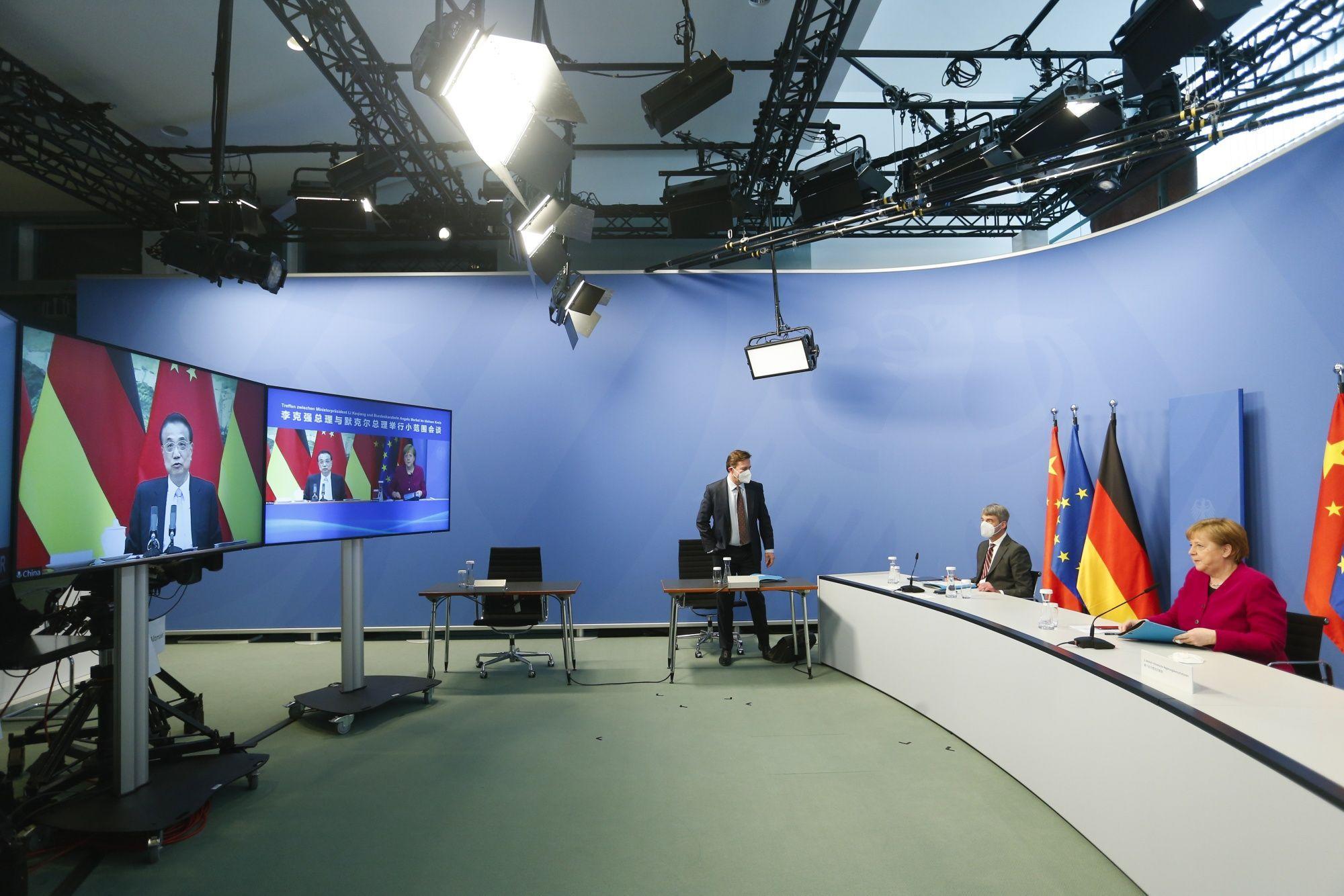 Die chinesischen Spannungen nahmen zu, als Europa an Bidens Seite trat