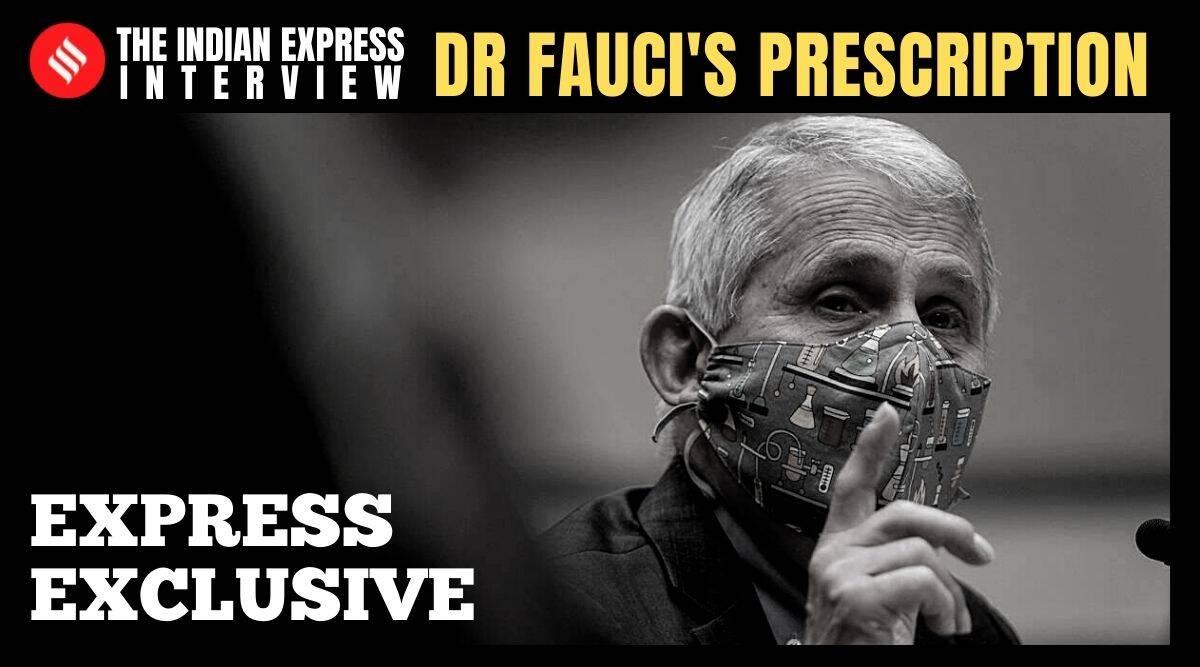 """Dr. Anthony S. Fauci spricht über die Covid-Krise in Indien: """"Schließen Sie das Land für ein paar Wochen … Warten Sie dort, kümmern Sie sich umeinander, wir werden normal."""""""