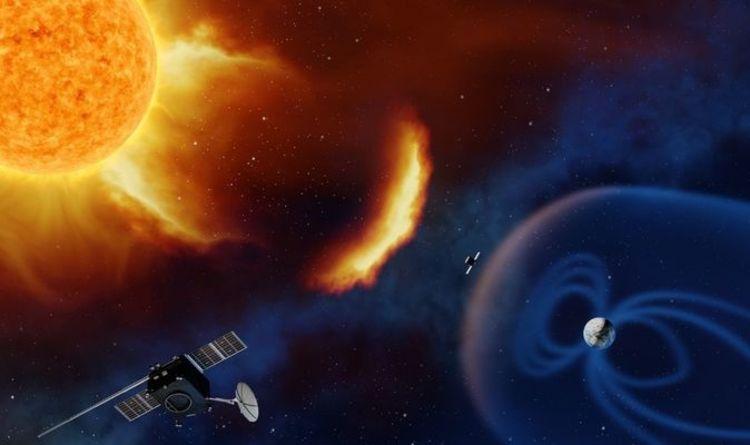 Ein Sonnensturm, der sich mit einer Geschwindigkeit von 1,8 Millionen Stundenkilometern bewegt, um die Erde zu treffen  Wissenschaft |  Nachrichten
