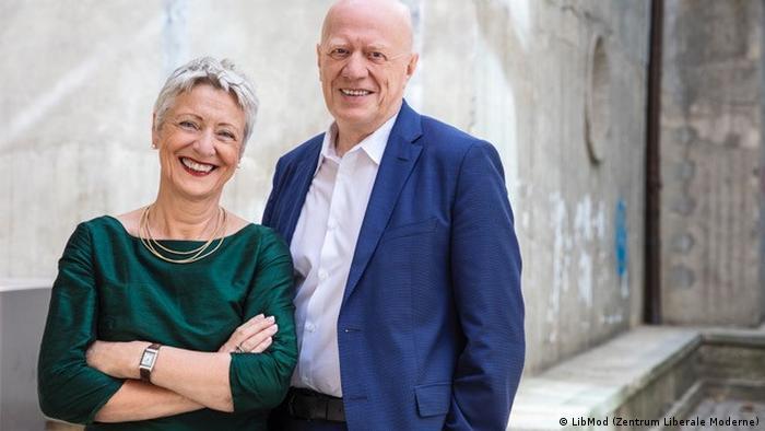 Ralph Fox und Marieluz Beck