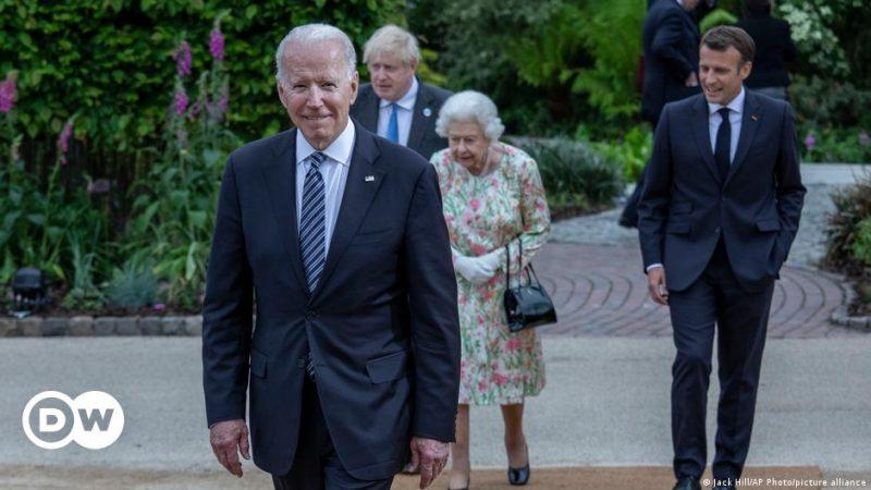 US-Präsident Biden überzeugt die G7, gegenüber China wettbewerbsfähiger zu werden    Welt    Eilmeldungen und Perspektiven aus aller Welt    DW