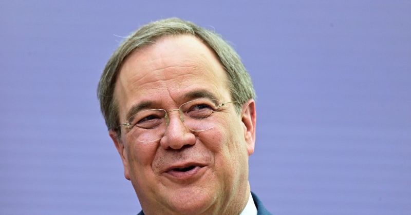 Bundespräsident Laschet will im Falle seiner Wahl die Militärausgaben erhöhen