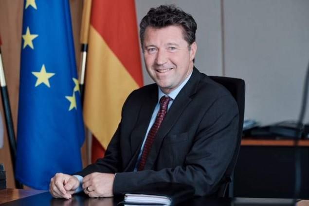 Der deutsche Botschafter sagt, das deutsche Geschäft in Russland sei etwas optimistisch