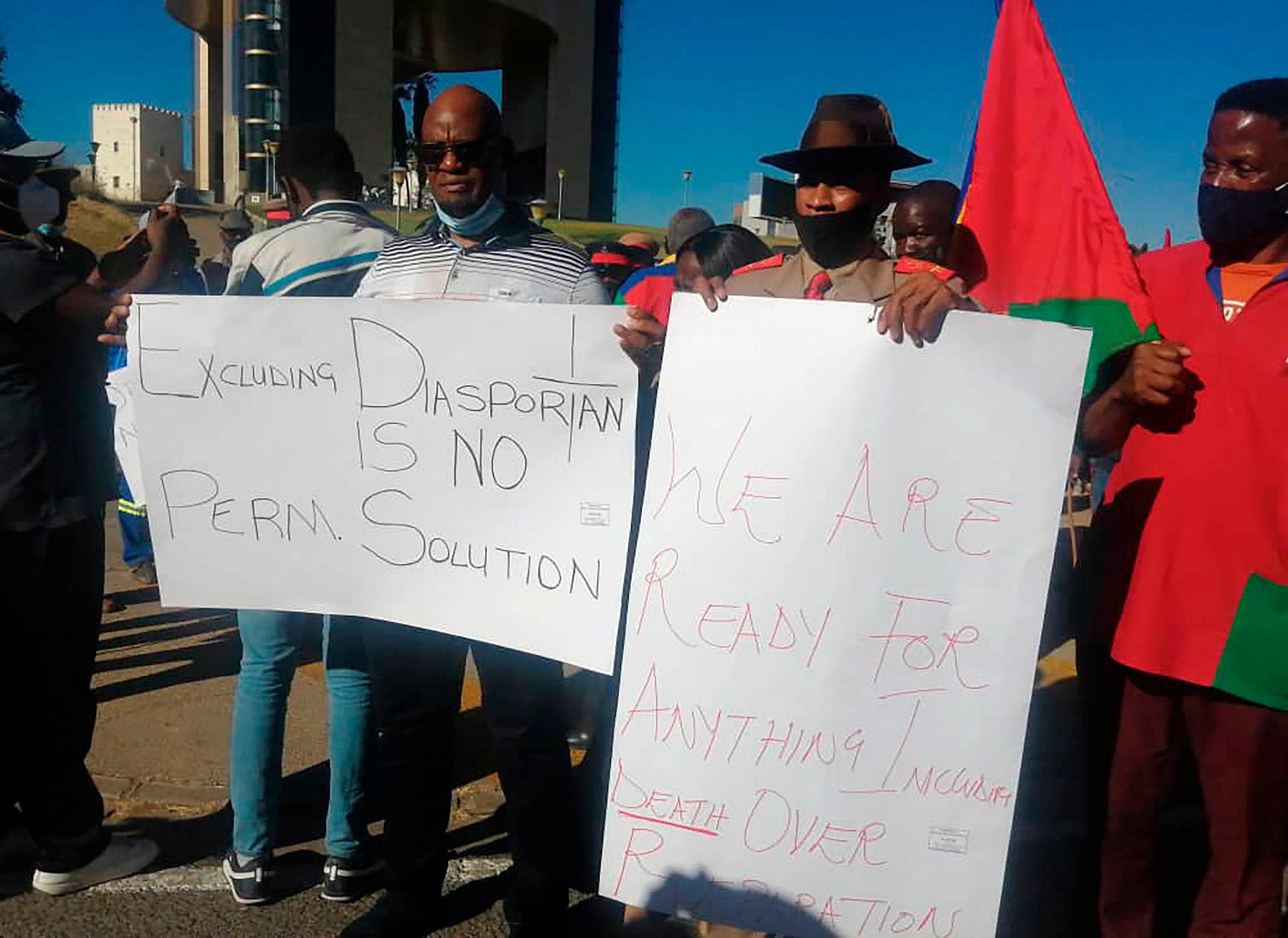 Einige namibische Stammesführer akzeptieren ein deutsches Entschädigungsangebot in Höhe von 1,3 Milliarden US-Dollar | عرض  Die Stimme Amerikas