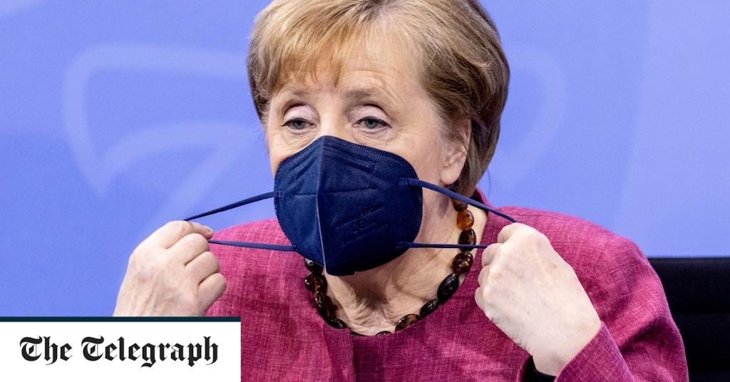 Schlag für Angela Merkel, da Chipknappheit die deutsche Industrie beeinträchtigt