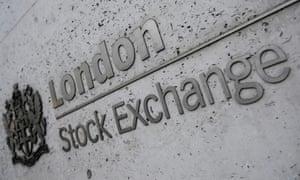 Büros der London Stock Exchange Group in der City of London