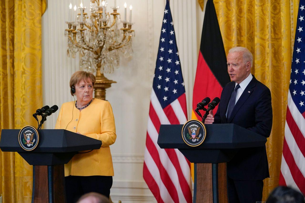 Merkels Abschiedsbesuch in Washington