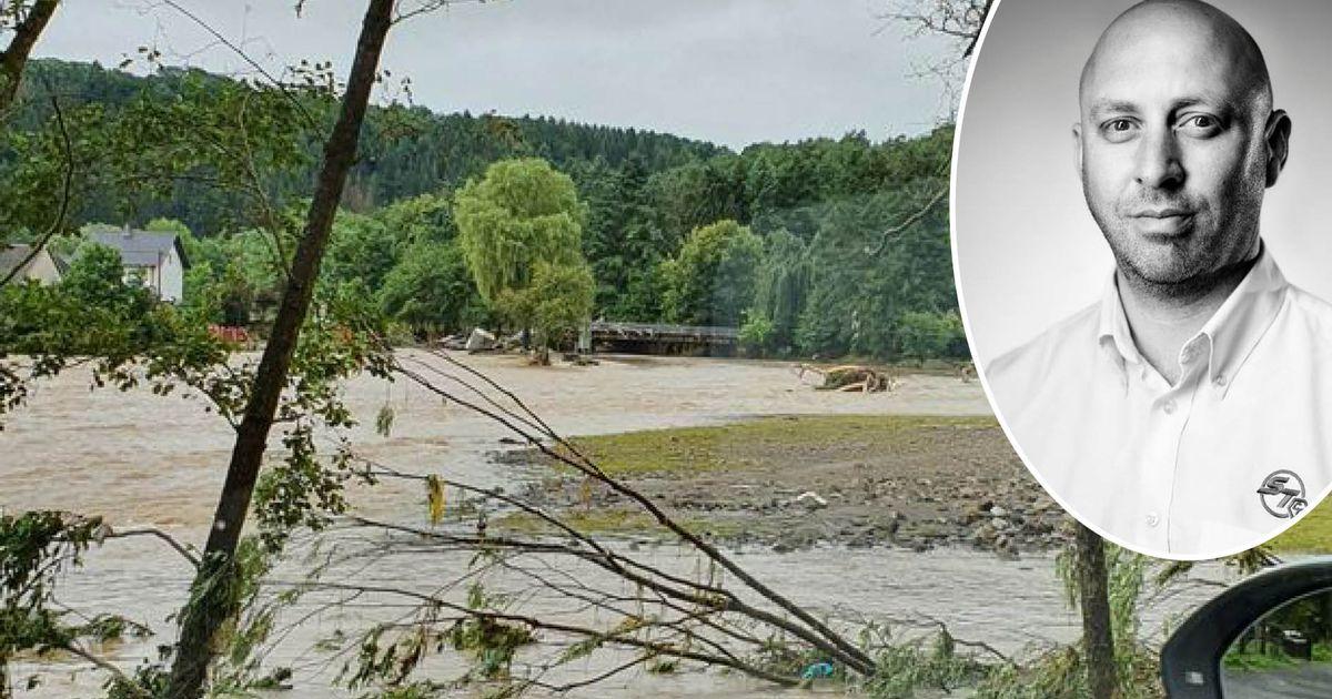 Ein Geschäftsmann, der in Wales nach Hause fuhr, stürzte in tödliche deutsche Überschwemmungen