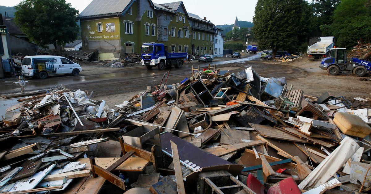 Die Hoffnungen, Überlebende zu finden, schwinden, als sich die Deutschen fragen, wie sie mit den Überschwemmungen umgehen sollen