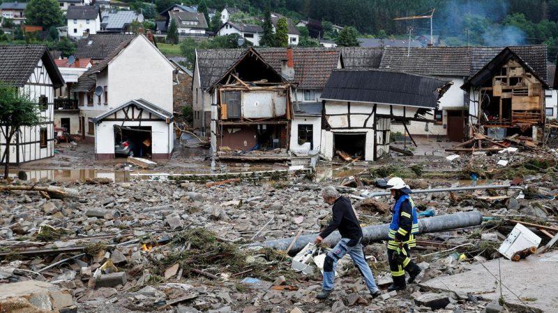 Mindestens 44 Tote und Dutzende Vermisste aufgrund von Überschwemmungen in Westeuropa