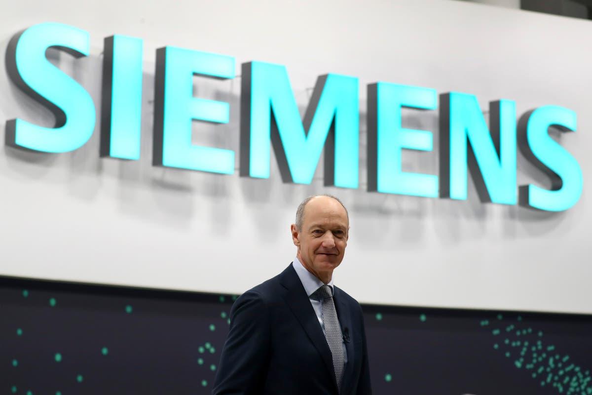 Globale Konjunkturerholung trägt dazu bei, Auftragsbücher bei Siemens Deutschland Sacramento California München Airbus zu füllen