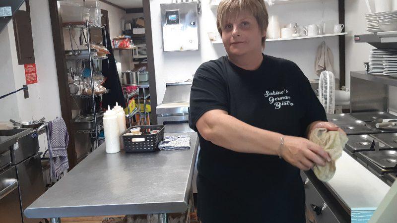 Das New Boston Bistro serviert deutsche Küche in dieser Stadt im Nordosten von Texas