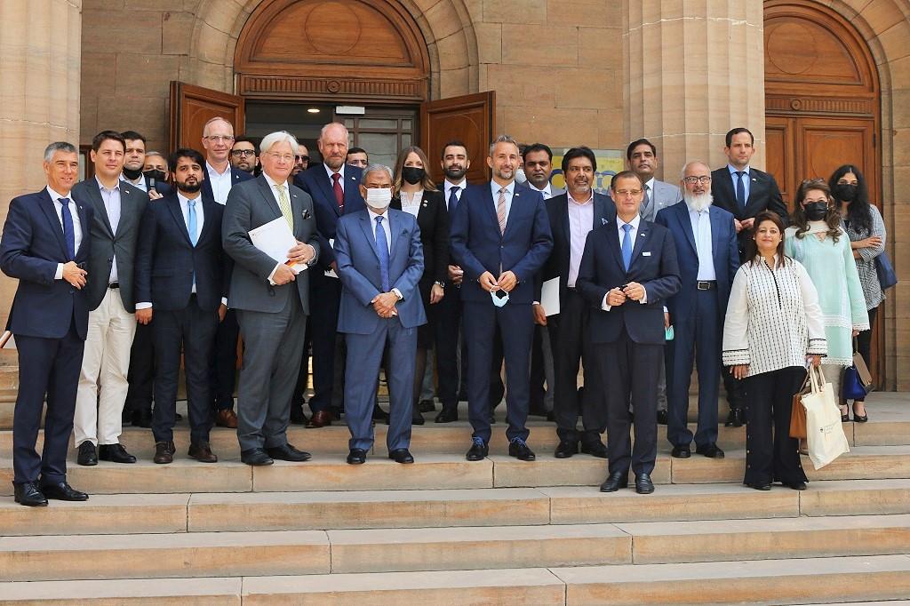 Deutsche Wirtschaftsdelegation auf der Suche nach Investitionsmöglichkeiten in Pakistan in Bezug auf Technologie und Wirtschaft