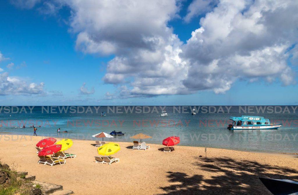 Bay Beach Store in Tobago.  Bei den Destination Awards des Travel Industry Club in Deutschland belegte die Insel den zweiten Platz.  Foto von JEFF K MAYERS