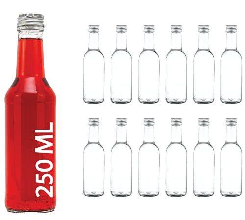 30 Le migliori recensioni di Bottiglie Vetro 250Ml testate e qualificate con guida all'acquisto